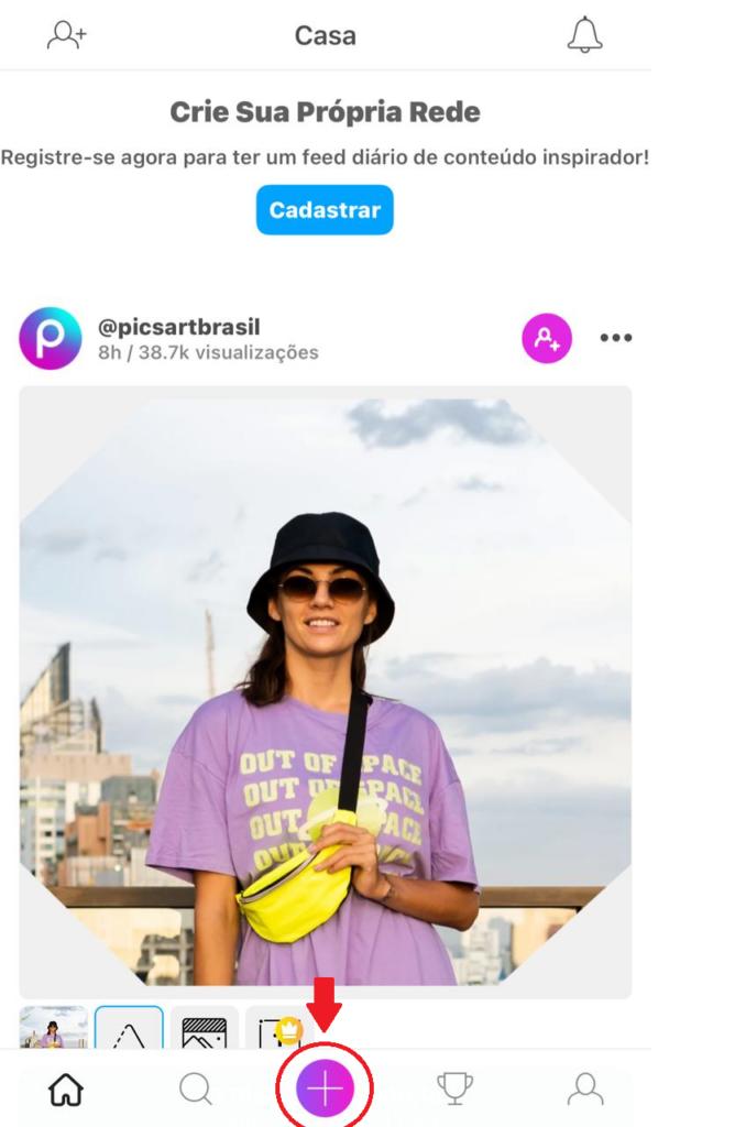 PicsArt Inicial